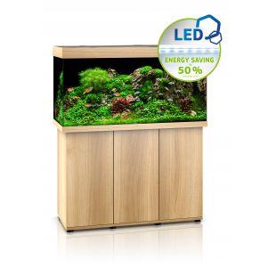 JUWEL LED Rio 350 Akvariumas,  šviesaus medžio spalvos