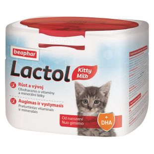 BEAPHAR Lactol Pieno pakaitalas kačiukams 250 g