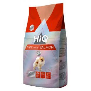 HIQ Mini Adult Salmon Sausas pašaras šunims 7 kg