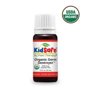 PLANT THERAPY Germ destroyer KidSafe natūralus eterinių aliejų mišinys 10 ml