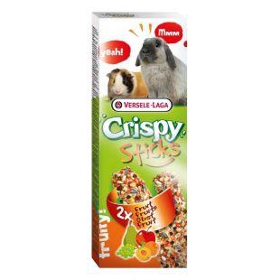VERSELE LAGA Crispy Sticks Pašaro papildas triušiams ir jūros kiaulytėms su vaisiais, 2 vnt.