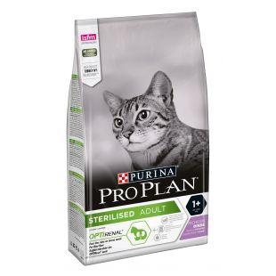PRO PLAN OPTIRENAL Sterilised Cat Turkey, pašaras sterilizuotoms katėms su kalakutiena 1.5 kg
