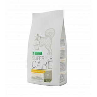 NATURE'S PROTECTION SUPERIOR CARE White dogs Large breed adult Pašaras šunims 10 kg