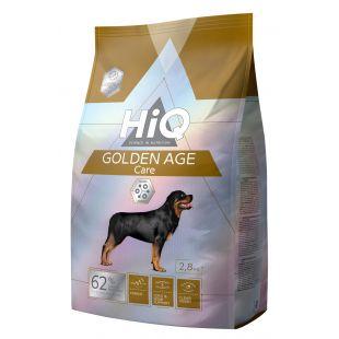 HIQ Golden Age Care Sausas pašaras šunims,  2.8 kg