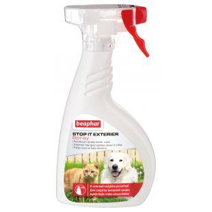 BEAPHAR Stop it Exterier Spray Priemonė atbaidyti gyvūnus 400 ml
