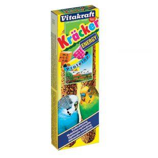 VITAKRAFT Kracker Gardėsis banguotoms papūgoms 2 vnt. su proteinu