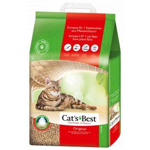 JRS CAT'S BEST ORIGINAL Sušokantis natūralus pjuveninis kraikas 20 l