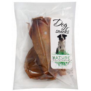 NATURE LIVING Skanėstas šunims Džiovinta kiaulės ausis pakuota 2 vnt.