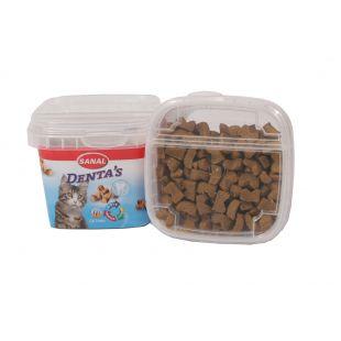 SANAL Denta s Cup Papildas kačių dantims ir dantenoms 75 g
