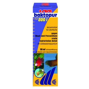 SERA Baktopur Priemonė nuo žiaunų, pelekų infekcijos 50 ml