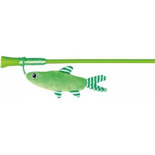 TRIXIE Žaislas katėms Lazdelė su žuvimi 42 cm