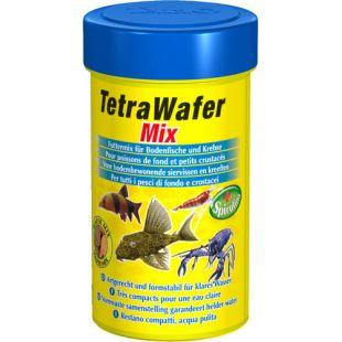 TETRA Wafer Mix Pašaras dugninėms žuvims ir vėžiagyviams 100 ml