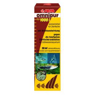 SERA Omnipur Priemonė prieš žuvų ligas 50 ml