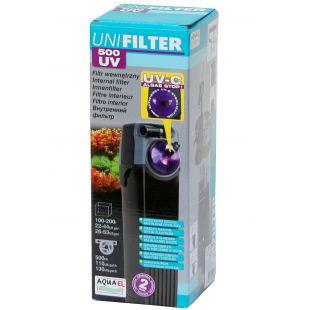 AQUAEL Unifilter UV Vidinis filtras su UV sterilizatoriumi akvariumui 100-200 l akvariumui