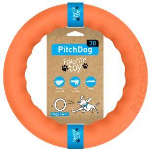 PULLER PitchDog Žaislas šunims 28 žiedas oranžinis, 28 cm