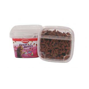 SANAL Fish Bites Cup Pašaro papildas katėms 75 g