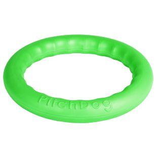 PULLER PitchDog Žaislas šunims 20 žiedas žalias, 20 cm