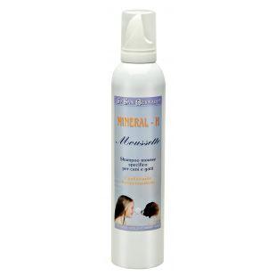 IV SAN BERNARD MINERAL H šampūnas - Sausos putos šunims ir katėms 250 ml