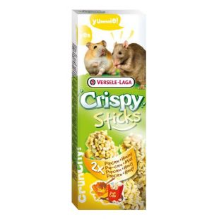 VERSELE LAGA Crispy Sticks Gardėsis žiurkėnams ir žiurkėms su popkornu ir medumi, 2 vnt.
