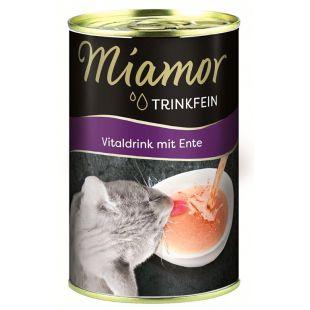 FINNERN MIAMOR Miamor Trinkfein Vitaldrink Gėrimas katėms su antiena 135 ml