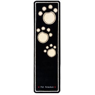 PET REBELLION Dog Runner Kilimėlis juodas, 45x150 cm