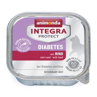INTEGRA Integra Diabetes Konservuotas pašaras katėms su jautiena 100 g