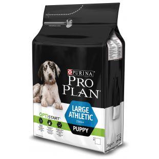 PRO PLAN OPTISTART Large Athletic Puppy, pašaras jauniems didelių veislių šunims 3 kg