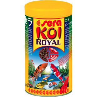 SERA Koi Royal Medium Pašaras karpiams 1000 ml