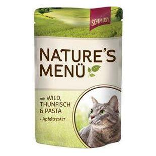 FINNERN MIAMOR Schmusy Natures Menu Konservuotas pašaras katėms su žvėriena ir tunu 100 g