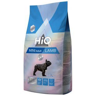 HIQ Mini Adult Lamb Sausas pašaras šunims 7 kg