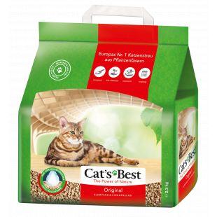 JRS CAT'S BEST ORIGINAL Sušokantis natūralus pjuveninis kraikas 5 L, (2.1kg)