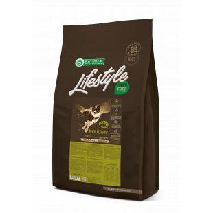 NATURE'S PROTECTION LIFESTYLE All Breeds Adult Grain Free Poultry Sausas pašaras šunims 10 kg