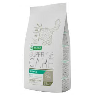 NATURE'S PROTECTION SUPERIOR CARE White Cat Pašaras katėms 1.5 kg
