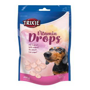 TRIXIE Vitamindrops Skanėstai šunims su jogurtu 200 g