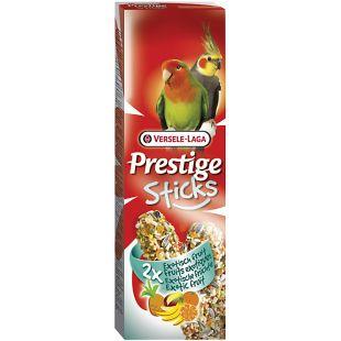 VERSELE LAGA Prestige Sticks Gardėsiai papūgoms su egzotiniais vaisiais 2 vnt.