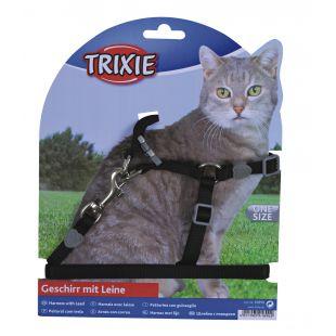 TRIXIE Petnešos ir pavadėlis katėms 0.1x26-37 cm, 120 cm