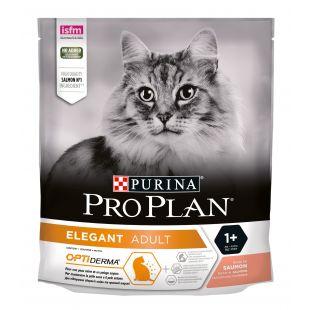 PRO PLAN OPTIDERMA Elegant Adult Cat Salmon, sausas pašaras suaugusioms katėms su lašiša 400 g