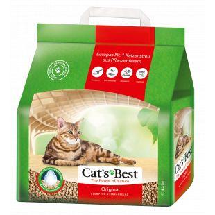 JRS CAT'S BEST ORIGINAL Sušokantis natūralus pjuveninis kraikas 10 L, (4.3kg)