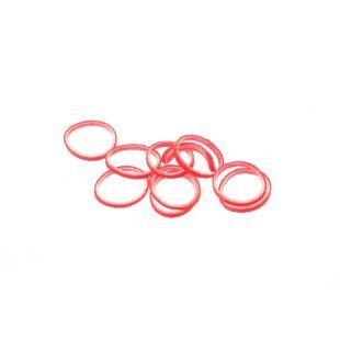 LAINEE Gumytės lateksinės 100vnt raudonos spalvos, 8mm