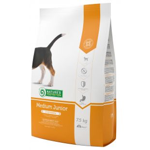 NATURE'S PROTECTION All breeds Junior 2-12 months Poultry Sausas pašaras šunims 7.5 kg