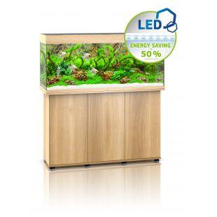 JUWEL LED Rio 240 Akvariumas šviesaus medžio spalvos, 240 l, 121x41x55 cm
