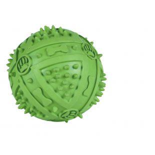 TRIXIE Žaislas šunims guminis cypiantis kamuoliukas 9 cm
