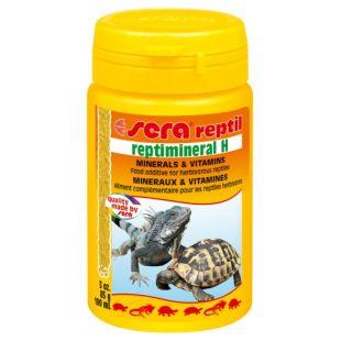 SERA Reptimineral H Vitaminai žolėdėms reptilijoms 100 ml