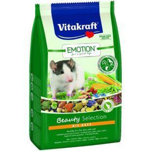 VITAKRAFT Emotion Beauty Pašaras žiurkėms 600 g