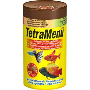 TETRA TetraMenue Futtermix Pašaras visoms žuvims 4rūšys 100 ml