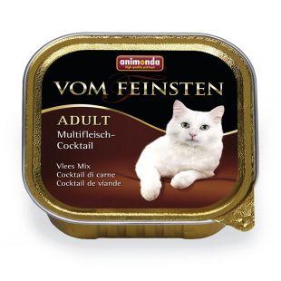 ANIMONDA Vom feinsten classic Konservuotas pašaras išrankioms katėms mėsos kokteilis 100 g