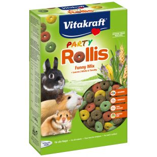 VITAKRAFT Rollis party Riestainiai graužikams 500 g
