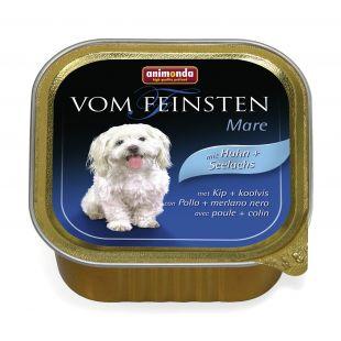ANIMONDA Vom feinsten Mare Konservuotas pašaras šunims su paukštiena ir menke 150 g