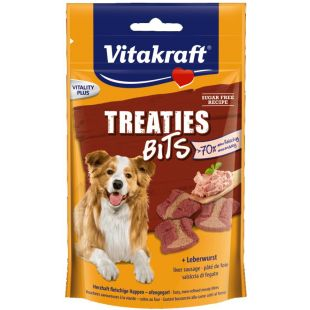 VITAKRAFT Treaties Bits Skanėstas šunims su kepenėlėmis 120 g