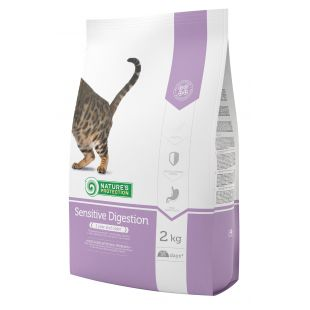 NATURE'S PROTECTION Sensitive Digestion Adult 1 year and older Poultry Sausas pašaras katėms 2 kg